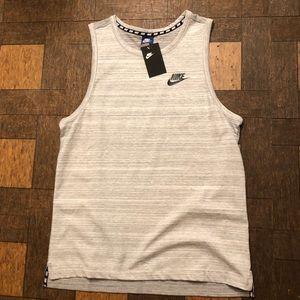 Nike Shirts - Men's New Nike Tank Top Tech Fleece Max Air 90 97